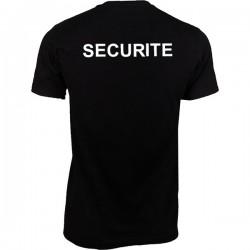Tee shirt sécurité dos