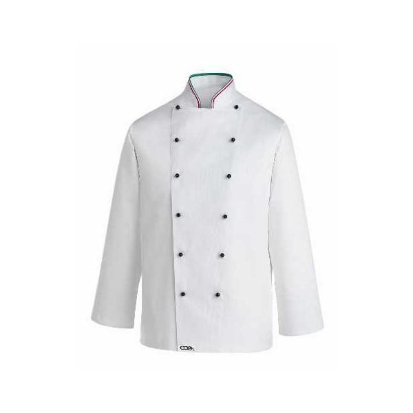 Veste de cuisine italienne col italien pizzaiolo for Veste de cuisine col mof