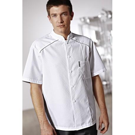 Veste de Cuisine Cooking Star Bragard, qualité tissu léger, sobre et élégant