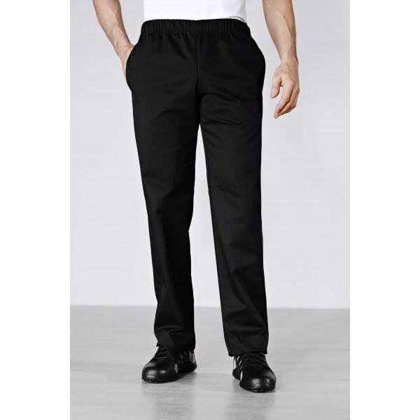 Pantaloni da cucina neri Bragard