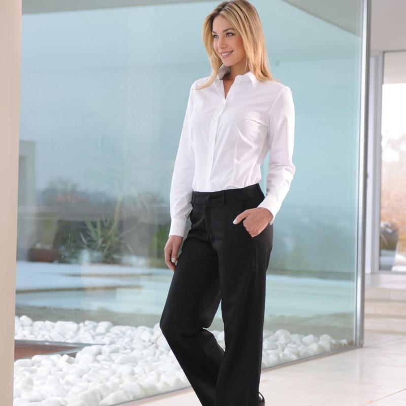 Pantalon de Service Femme Noir pas cher
