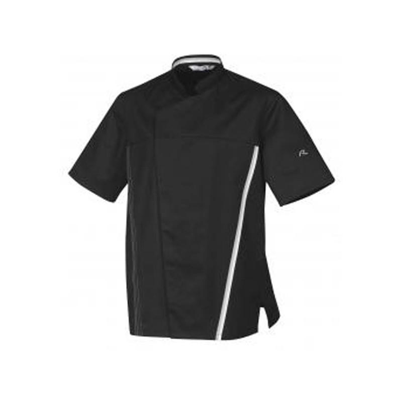 Giacca da cuoco nera TRED ROBUR