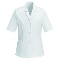 Blouse Médicale Blanche 100% Coton homme femme pas cher