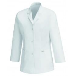 Blouse Médicale Blanche 100% Cotons promotions femmes