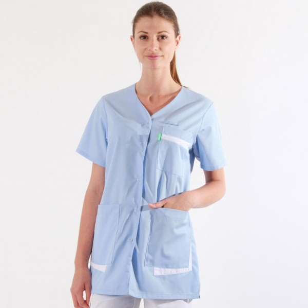 Blouse Medicale bleue