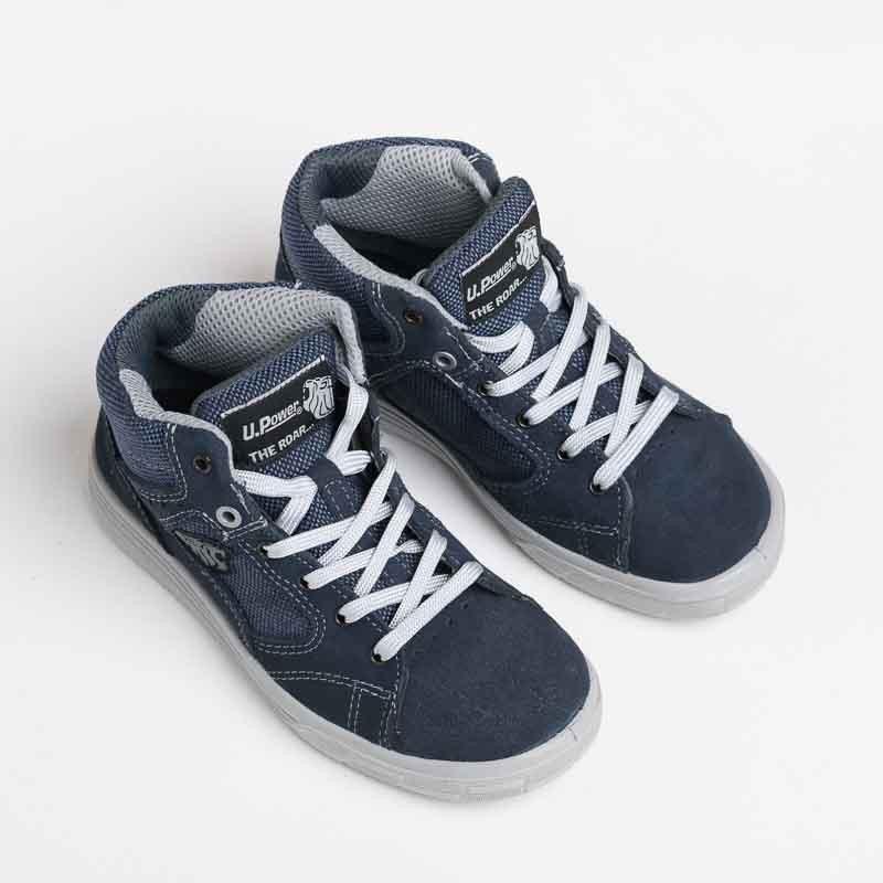Chaussures de Sécurité Basket Montante, flexible pour travaux en hiver ou été