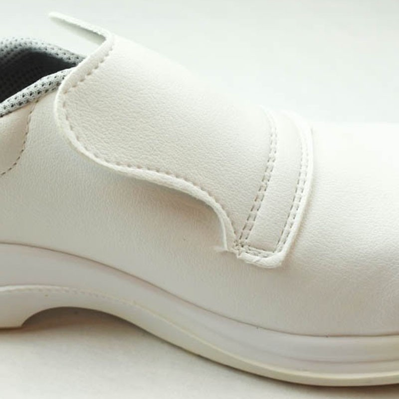 Chaussures de Sécurité Cuisine Blanche Cat S2. Elastique sans lacet.