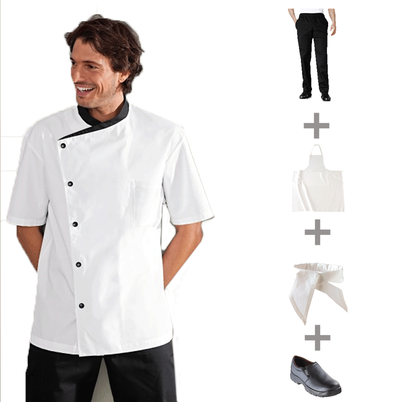 Tenue compl te bragard for Tenue professionnelle cuisine
