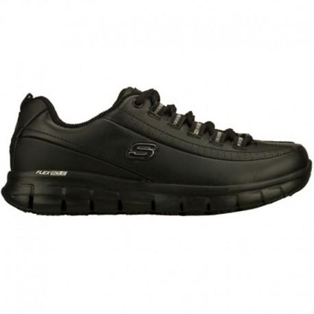 Chaussure de travail noire femme - skechers
