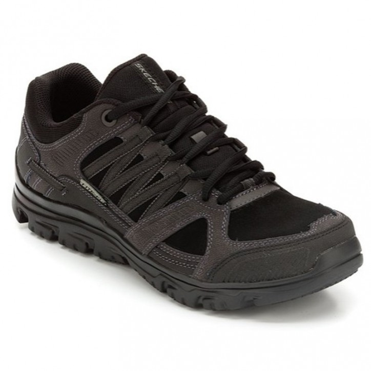 Chaussure de travail noire homme - Skechers