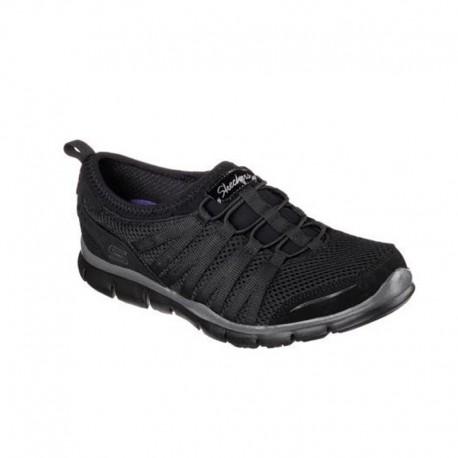 Scarpa professionale nera per donna Skechers