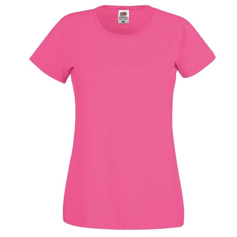 tee shirt femme rose