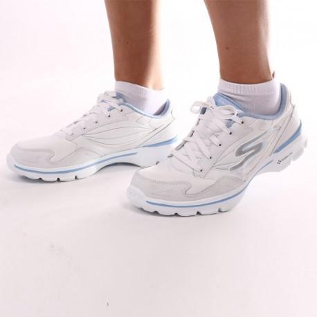 Chaussure blanche et bleue - Skechers