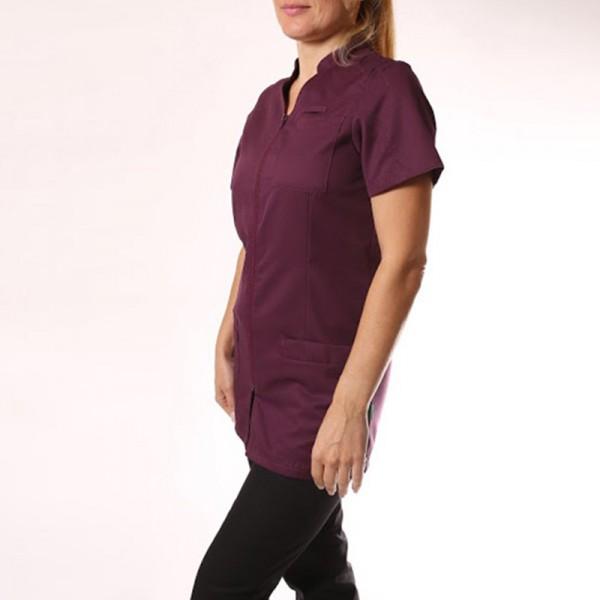 Blouse médicale 2SAN violet femme promotions manche courte