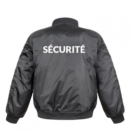 Bomber agent de securite