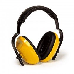 Casque anti-bruit jaune