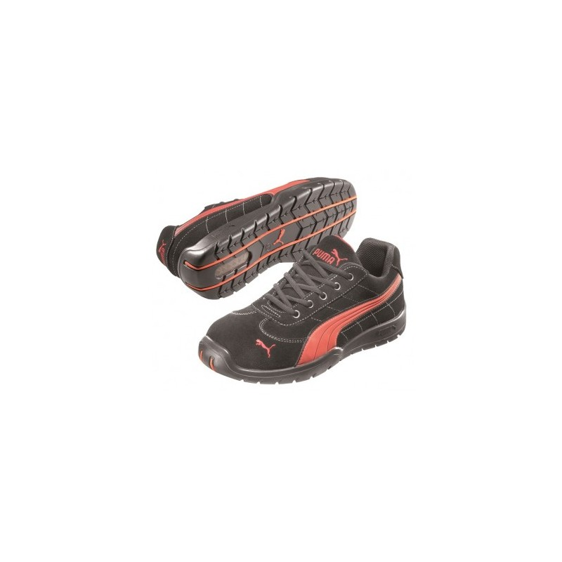 Scarpe da basket miste antinfortunistiche Puma Silverstone S1P