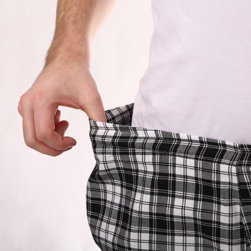 Pantalon de Cuisine Carreaux Noir promo