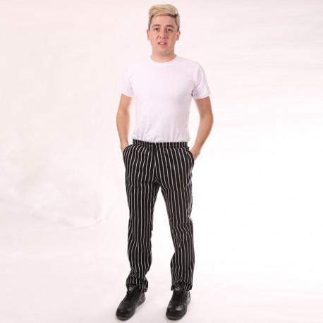Pantalon de Cuisine Grosses Rayures homme