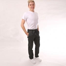 Pantalon de Cuisine Grosses Rayures hommes pas cher