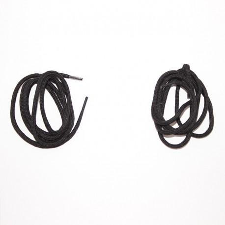 Lacets noirs chaussures de sécurité