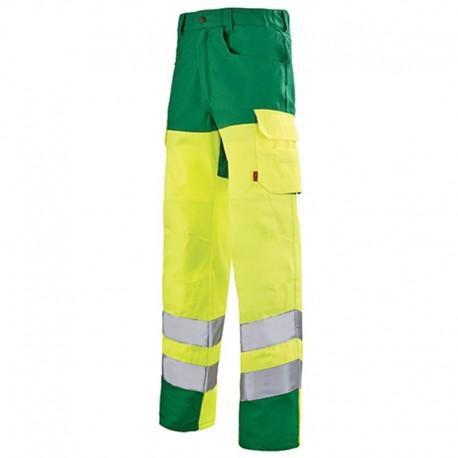Pantalon haute visibilité jaune fluo JAUNE HIVI/ALPIN 1HVI77CP