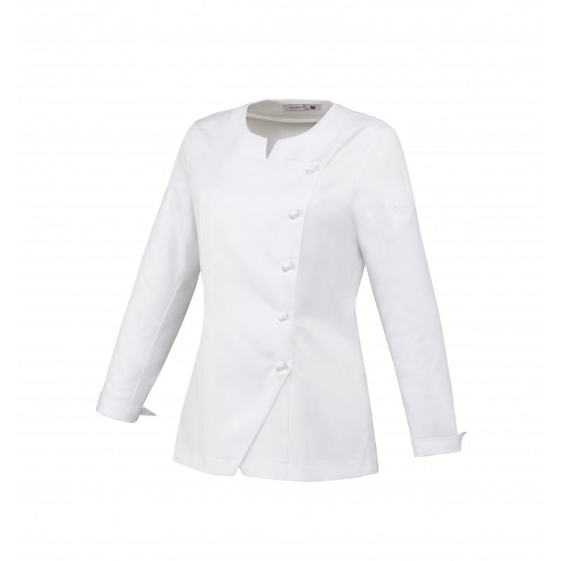 Veste de cuisine femme blanche Valloire