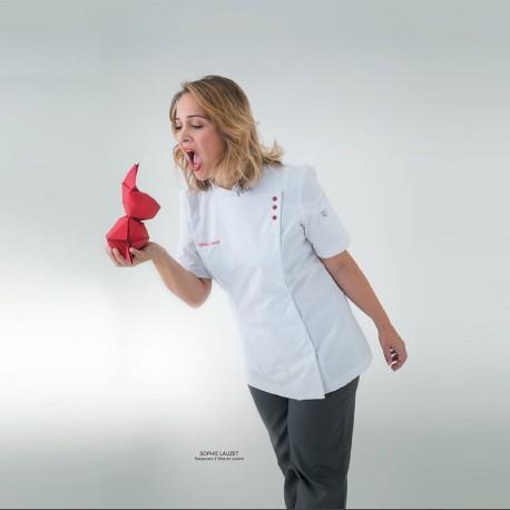 Veste de cuisine femme Virgule Robur