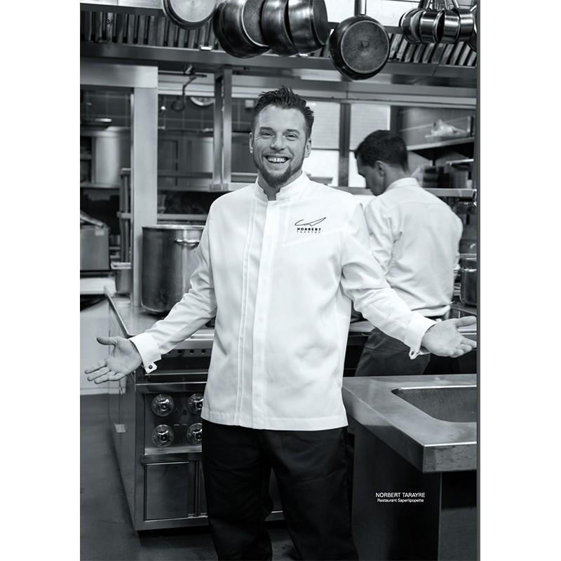 Veste de cuisine mixte Valto Robur, qualité et élégance