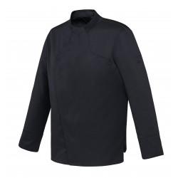 Veste de cuisine mixte Vador Robur , manches longues coupe droite