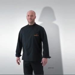 Veste de cuisine mixte Vador Robur , noire de la marque Robur