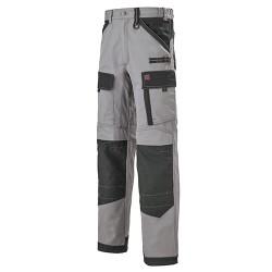 Pantalon Multipoches Protection Genoux Gris pour homme pas cher promotion
