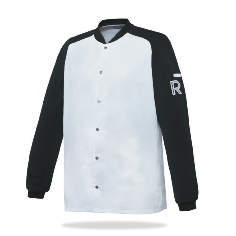Veste de cuisine Vintage - Robur, aspect baseball, bicolore, américain, veste originale