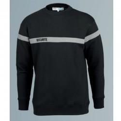 Sweat-shirt sécurité incendie noir