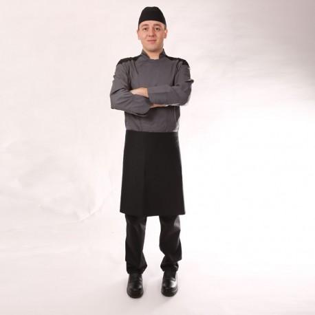 Bandana noir de cuisine