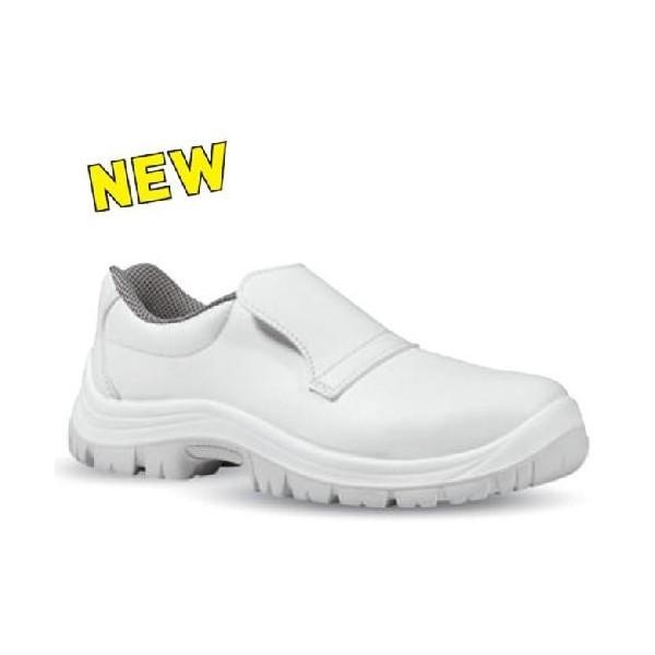 Chaussure de boulanger blanche