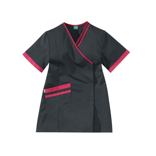 blouse carbone et rose Lafont