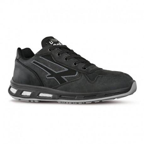 Chaussures de sécurité CARBON S3SRC. Noire et épurée. Confort absolu.