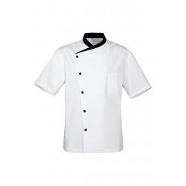 Veste de cuisine blanche juliuso Bragard, aération pour passage de l'air
