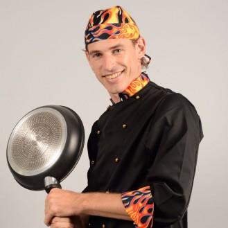 Bandana da cucina Devil profilo