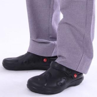 Sandalo per cucina schu'zz pro nero profilo