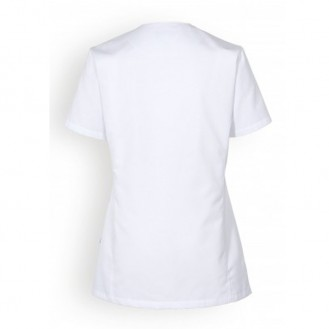Camice bianco medico - Clinic Dress indietro