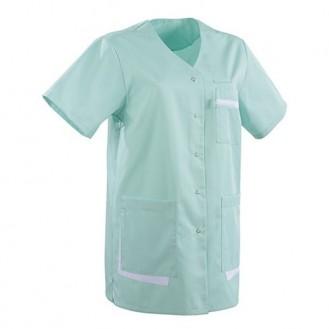 Blusa ad uso medico colore verde