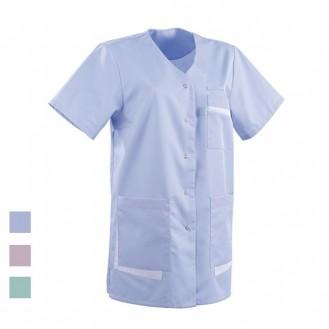 Blusa ad uso medico colore blu