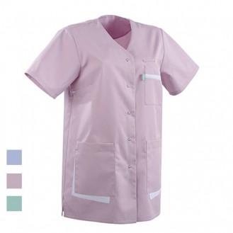 Blusa ad uso medico colore rosa