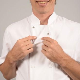Giacca da cuoco tela 100% cotone zoom
