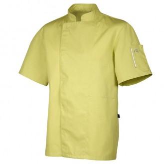 Giacca da cucina color pistacchio - Robur modello
