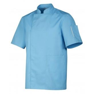 Giacca da cucina azzurra - Robur modello