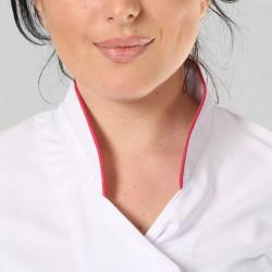 Veste de cuisine blanche by Coline Faulquier