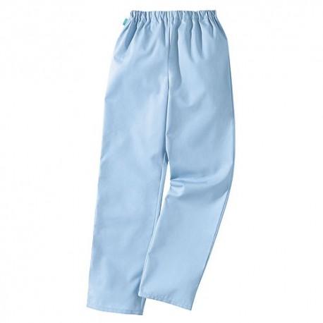 Pantalon médical bleu